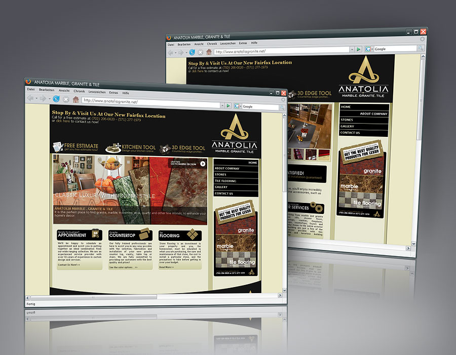 Anatolia Marble And Granite Launch The Site